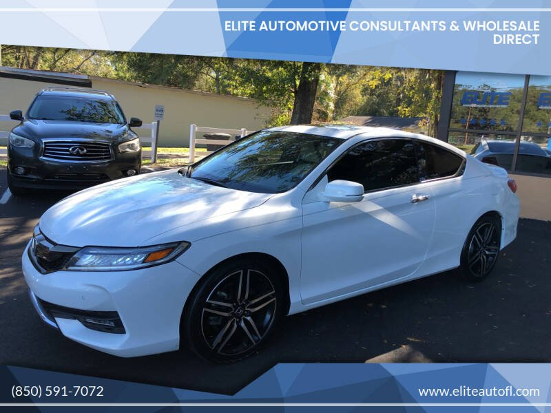 2016 Honda Accord for sale at Elite Automotive Consultants & Wholesale Direct in Tallahassee FL