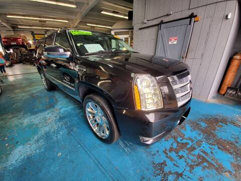 2013 Cadillac Escalade ESV for sale at Stach Auto in Janesville WI