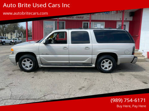 2004 GMC Yukon XL for sale at Auto Brite Used Cars Inc in Saginaw MI