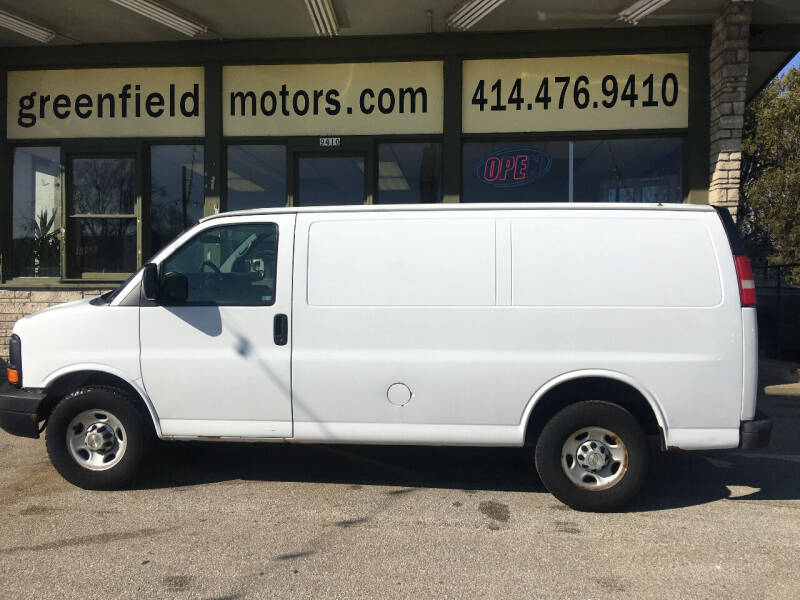 2007 Chevrolet Express Cargo for sale at GREENFIELD MOTORS in Milwaukee WI