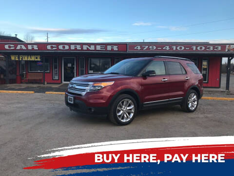 2014 Ford Explorer for sale at CAR CORNER in Van Buren AR