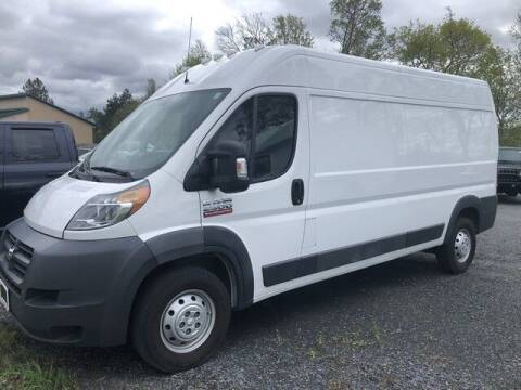 2016 RAM ProMaster Cargo for sale at BATTENKILL MOTORS in Greenwich NY