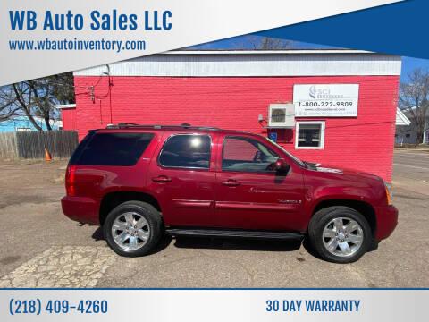 2009 GMC Yukon for sale at WB Auto Sales LLC in Barnum MN