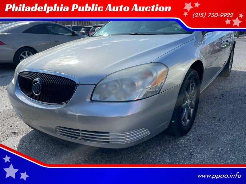 2007 Buick Lucerne for sale at Philadelphia Public Auto Auction in Philadelphia PA