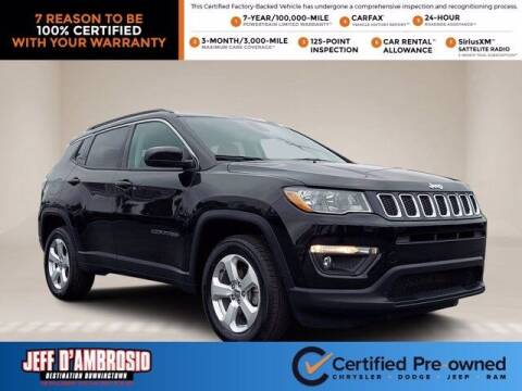 2019 Jeep Compass for sale at Jeff D'Ambrosio Auto Group in Downingtown PA