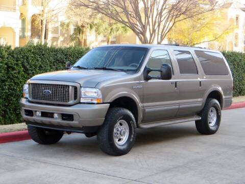2002 Ford Excursion for sale at RBP Automotive Inc. in Houston TX