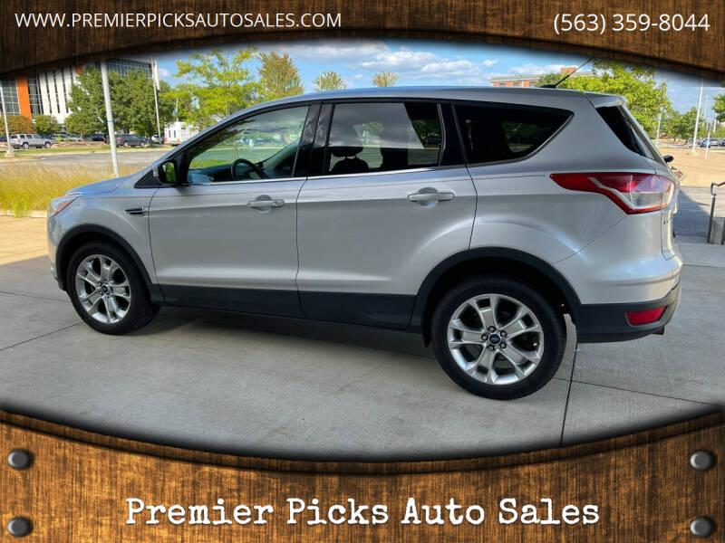 2013 Ford Escape for sale at Premier Picks Auto Sales in Bettendorf IA