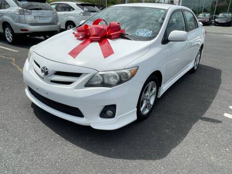 2011 Toyota Corolla for sale at Charlotte Auto Group, Inc in Monroe NC
