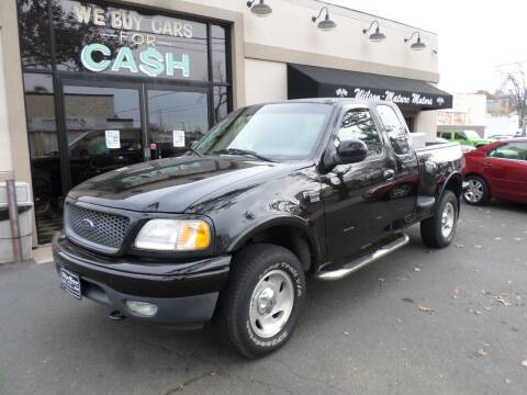 2000 Ford F-150 for sale at Wilson-Maturo Motors in New Haven Ct CT