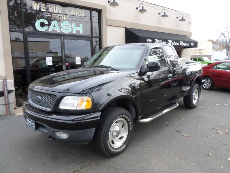 2000 Ford F-150 for sale at Wilson-Maturo Motors in New Haven CT