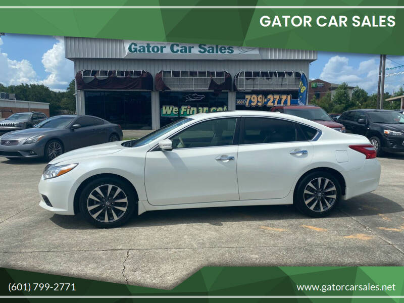 2016 Nissan Altima for sale at Gator Car Sales in Picayune MS