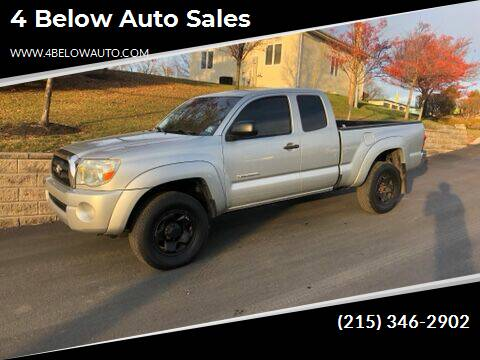 2008 Toyota Tacoma for sale at 4 Below Auto Sales in Willow Grove PA
