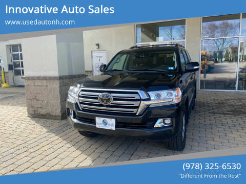 2020 Toyota Land Cruiser for sale at Innovative Auto Sales in North Hampton NH