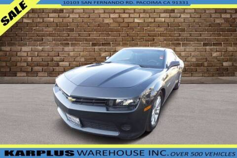 2015 Chevrolet Camaro for sale at Karplus Warehouse in Pacoima CA