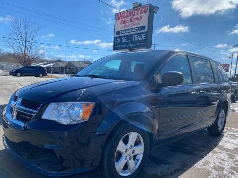 2013 Dodge Grand Caravan for sale at Unlimited Auto Group in West Chester OH
