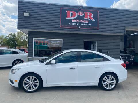 2013 Chevrolet Cruze for sale at D & R Auto Sales in South Sioux City NE