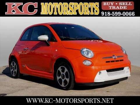 2015 FIAT 500e for sale at KC MOTORSPORTS in Tulsa OK