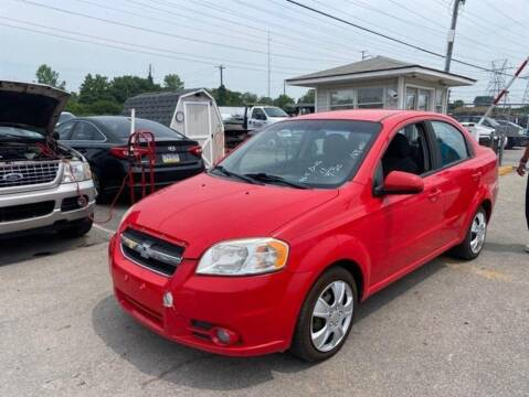 2011 Chevrolet Aveo for sale at Jeffrey's Auto World Llc in Rockledge PA