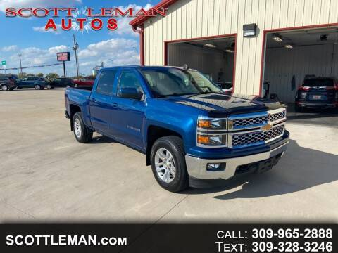 2015 Chevrolet Silverado 1500 for sale at SCOTT LEMAN AUTOS in Goodfield IL