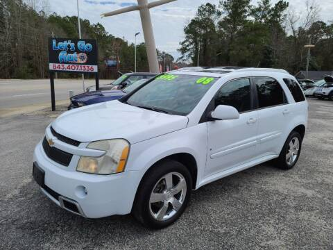 2008 Chevrolet Equinox for sale at Let's Go Auto in Florence SC