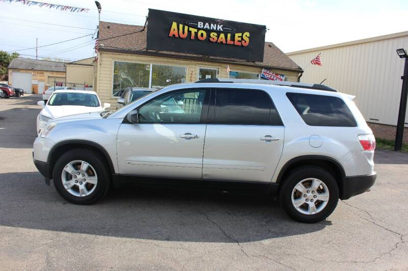 2010 GMC Acadia for sale at BANK AUTO SALES in Wayne MI