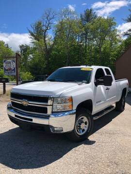 2009 Chevrolet Silverado 2500HD for sale at Hornes Auto Sales LLC in Epping NH