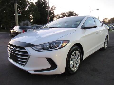 2017 Hyundai Elantra for sale at PRESTIGE IMPORT AUTO SALES in Morrisville PA