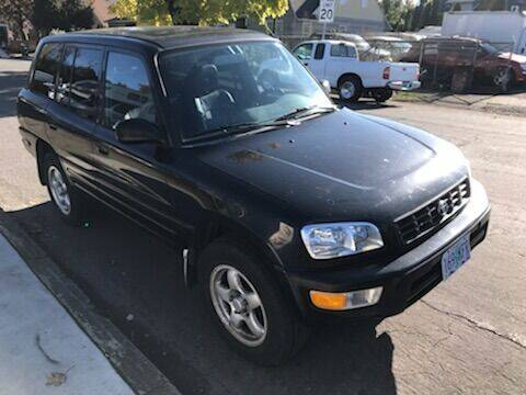 1999 Toyota RAV4 for sale at Chuck Wise Motors in Portland OR