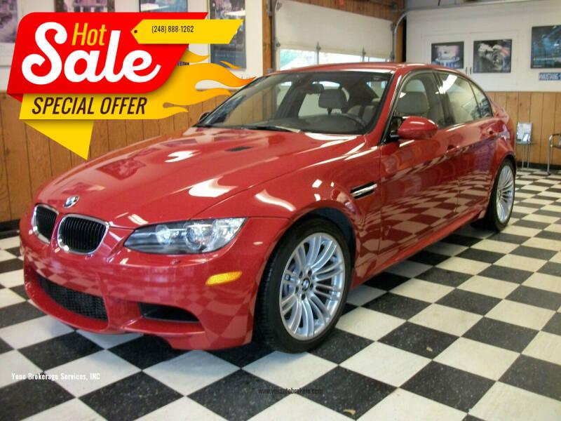 2011 BMW M3 for sale at Yono Brokerage Services, INC in Farmington MI