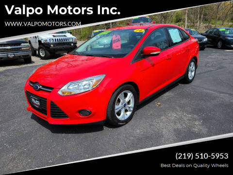 2014 Ford Focus for sale at Valpo Motors Inc. in Valparaiso IN