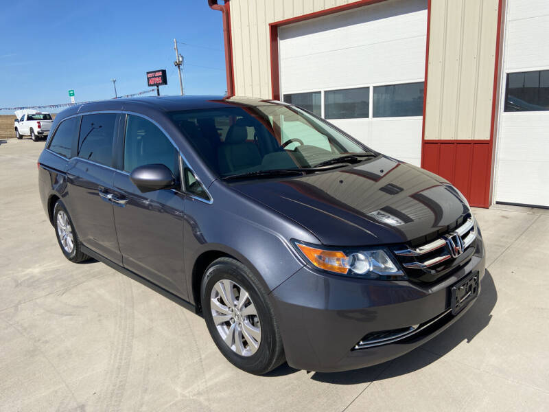 2016 Honda Odyssey for sale at SCOTT LEMAN AUTOS in Goodfield IL