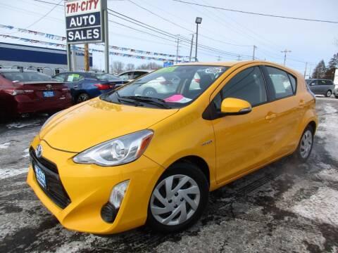 2015 Toyota Prius c for sale at TRI CITY AUTO SALES LLC in Menasha WI
