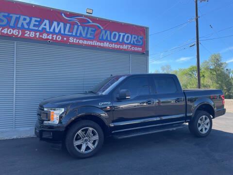 2018 Ford F-150 for sale at Streamline Motors in Billings MT