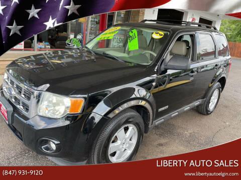 2008 Ford Escape for sale at Liberty Auto Sales in Elgin IL