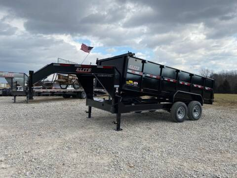 """2021 Elite 83x16 Dump Trailer 36"""" Sides for sale at Ken's Auto Sales & Repairs in New Bloomfield MO"""