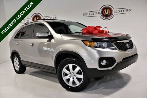 2013 Kia Sorento for sale at Unlimited Motors in Fishers IN