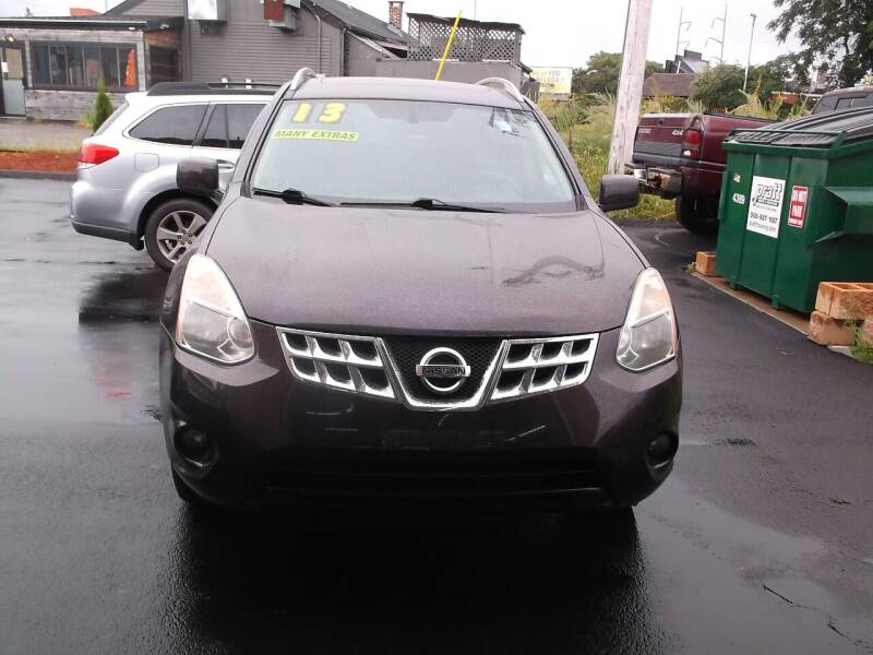 2013 Nissan Rogue for sale at sharp auto center in Worcester MA