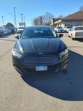2013 Ford Fusion for sale at SPECIALTY CARS INC in Faribault MN