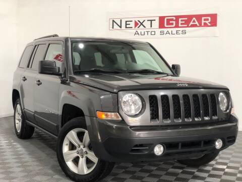 2014 Jeep Patriot for sale at Next Gear Auto Sales in Westfield IN