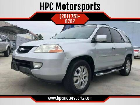 2003 Acura MDX for sale at HPC Motorsports in Spring TX