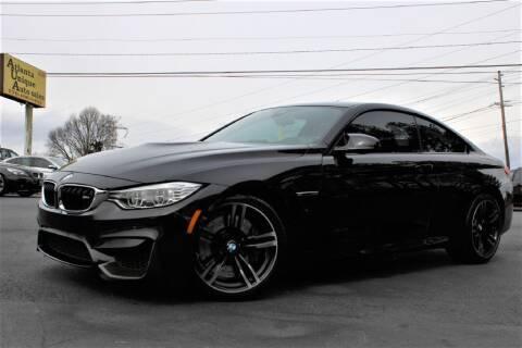 2016 BMW M4 for sale at Atlanta Unique Auto Sales in Norcross GA