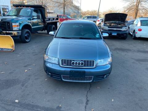 2005 Audi S4 for sale at Vuolo Auto Sales in North Haven CT