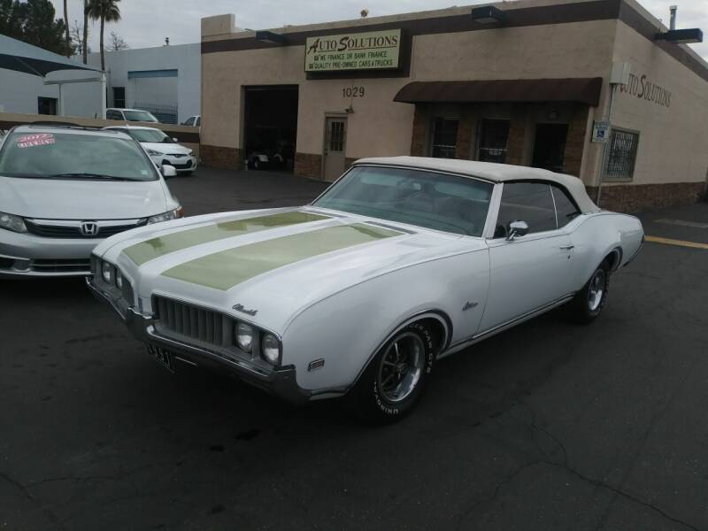 1969 Oldsmobile Cutlass Supreme for sale at Auto Solutions in Mesa AZ