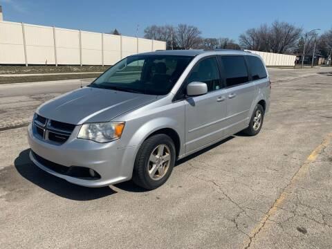 2011 Dodge Grand Caravan for sale at JORDAN & K INC. in River Grove IL