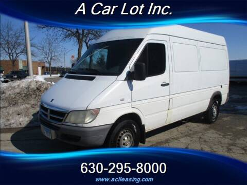 2004 Dodge Sprinter Cargo for sale at A Car Lot Inc. in Addison IL