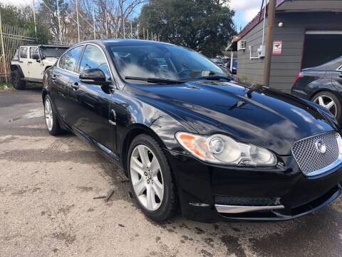 2010 Jaguar XF for sale at Texas Luxury Auto in Houston TX