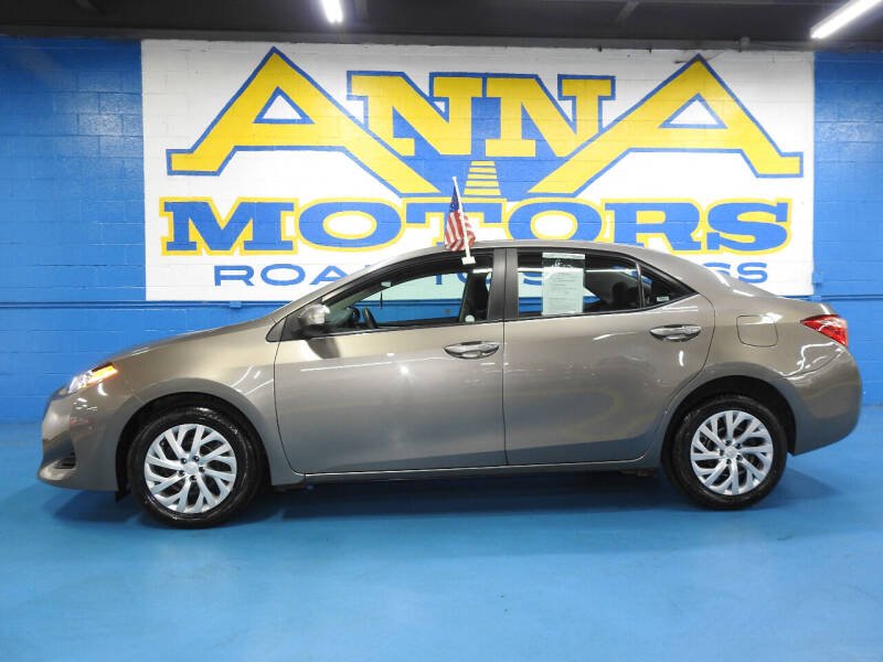 2019 Toyota Corolla for sale at ANNA MOTORS, INC. in Detroit MI