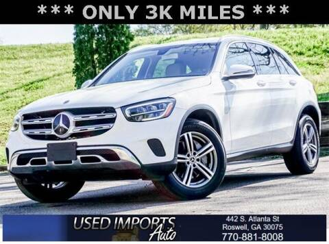 2020 Mercedes-Benz GLC for sale at Used Imports Auto in Roswell GA