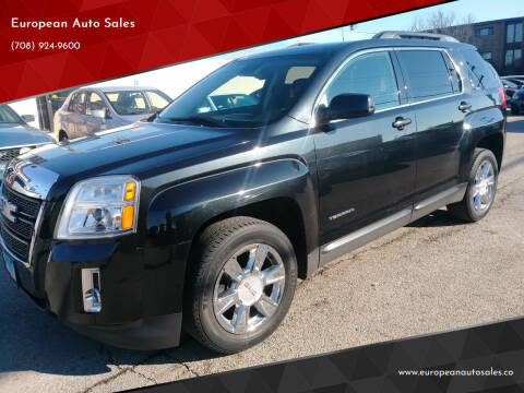 2013 GMC Terrain for sale at European Auto Sales in Bridgeview IL