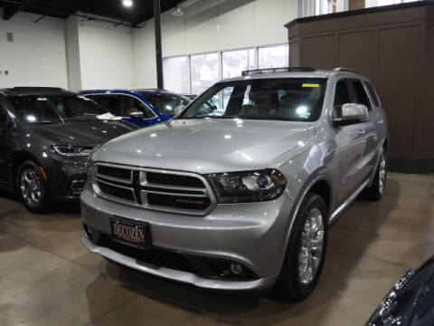 2018 Dodge Durango for sale at Montclair Motor Car in Montclair NJ